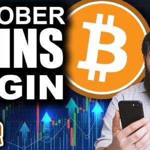 Bitcoin Golden Cross! (October GAINS Harvest Begins!)