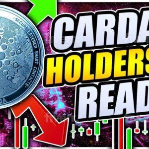 CARDANO CRASH TO $0.60!!? BITCOIN CRASHING THE ENTIRE MARKET!!???