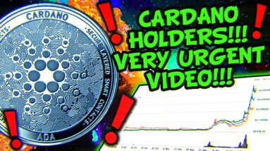 CARDANO FUD TO $1.40 OR GENERATIONAL BOTTOM!!!!?