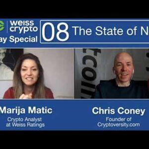 Turning EVERYTHING Into #Crypto #NFT #Tokenization - (Chris Coney & Marija Matic) WCSS:008