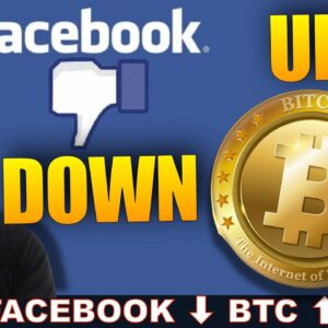 FACEBOOK INSTAGRAM & WHATSAPP DOWN! BITCOIN UP! HERE'S WHY.