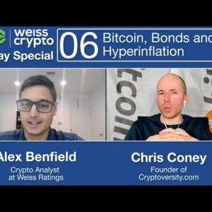 INSANE Yields on #Crypto and #Bitcoin vs #Bonds - (Chris Coney & Alex Benfield) WCSS:006
