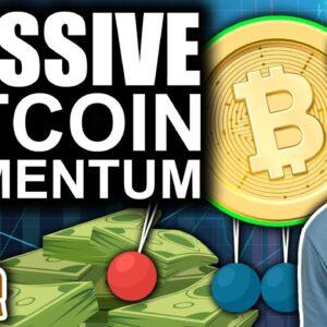 Massive Bitcoin MOMENTUM (Crypto & Altcoins Ultra Bullish)