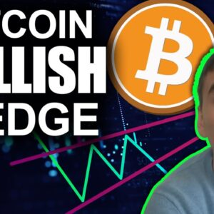 Bitcoin Analysis: Looking Up as Bullish Wedges Form (Altcoins to Pump Soon?)